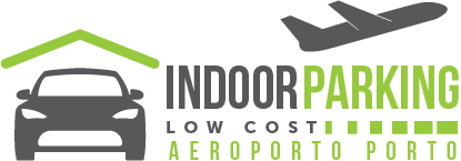 IndoorParkingLowCost - Logotipo do Parque de estacionamento do aeroporto do porto